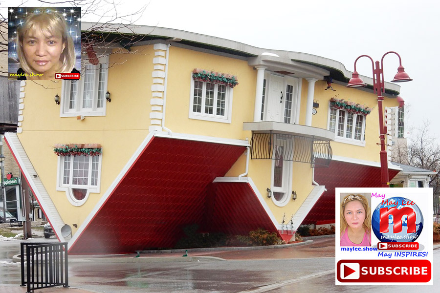 12 luxury homes built upside down actually exist