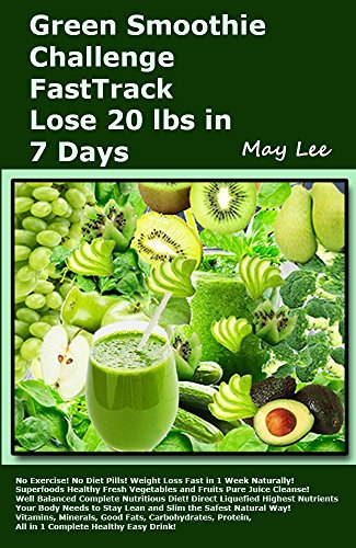 green smoothie challenge lose 20 lbs in 7 days