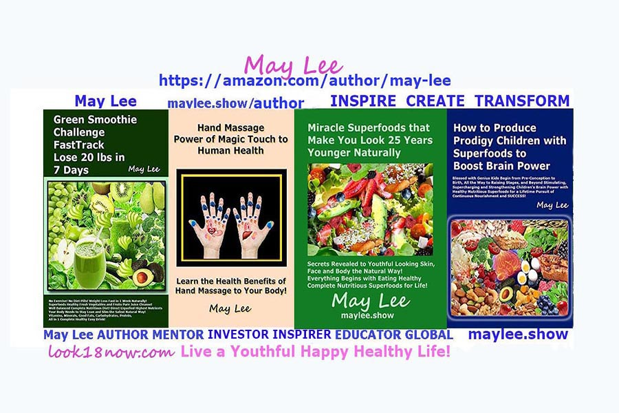 may lee author beauty fitness nutrition superfoods health books on maylee.show
