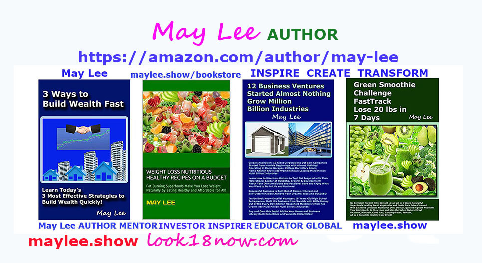 may lee author health wealth books amazon on maylee.show